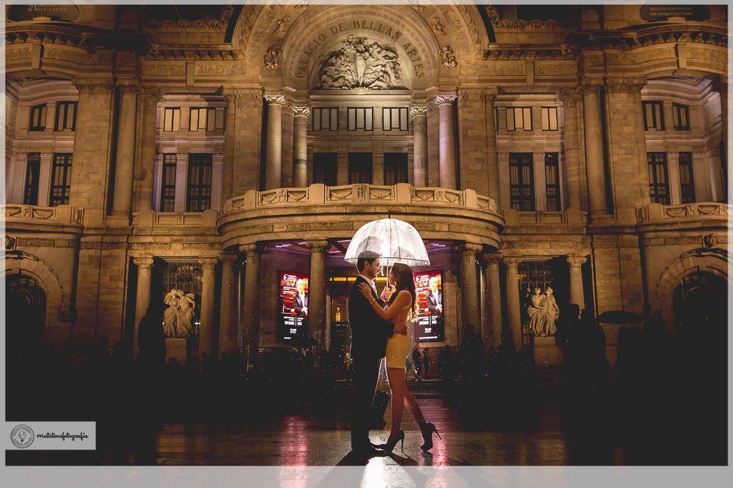 E-session  - Bellas Artes / Matatenafotografía