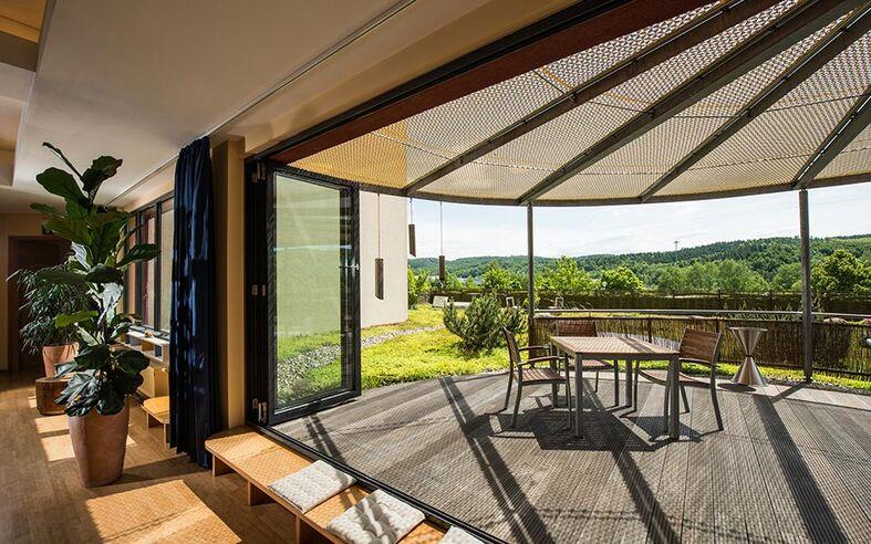 Beispiel: Terrasse, Foto:Feng Shui Tageszentrum Eisenach.