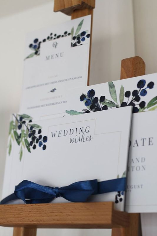 Blue Berry | Wedding wishes