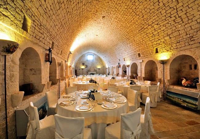 Interni - Barsentum Masseria fortificata