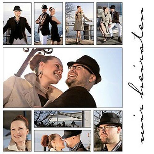 Beispiel: Ihre persönliche Einladung zur Hochzeit, Foto: Stauffercards.