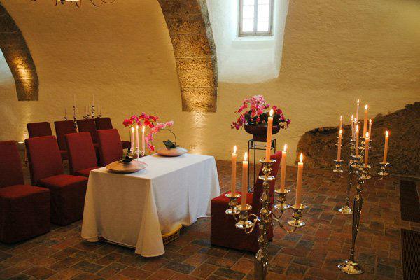 Beispiel: Trauung im Schloss, Foto: Schloss Mattsee.