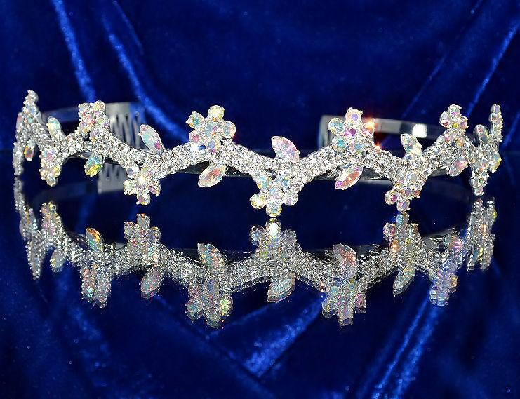 Diadème mariage Fleurs - Bijoux de Mariage
