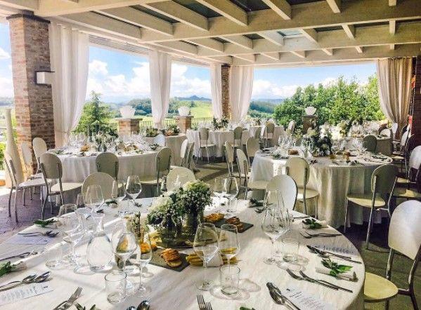 La Madernassa Resort - terrazza per matrimoni