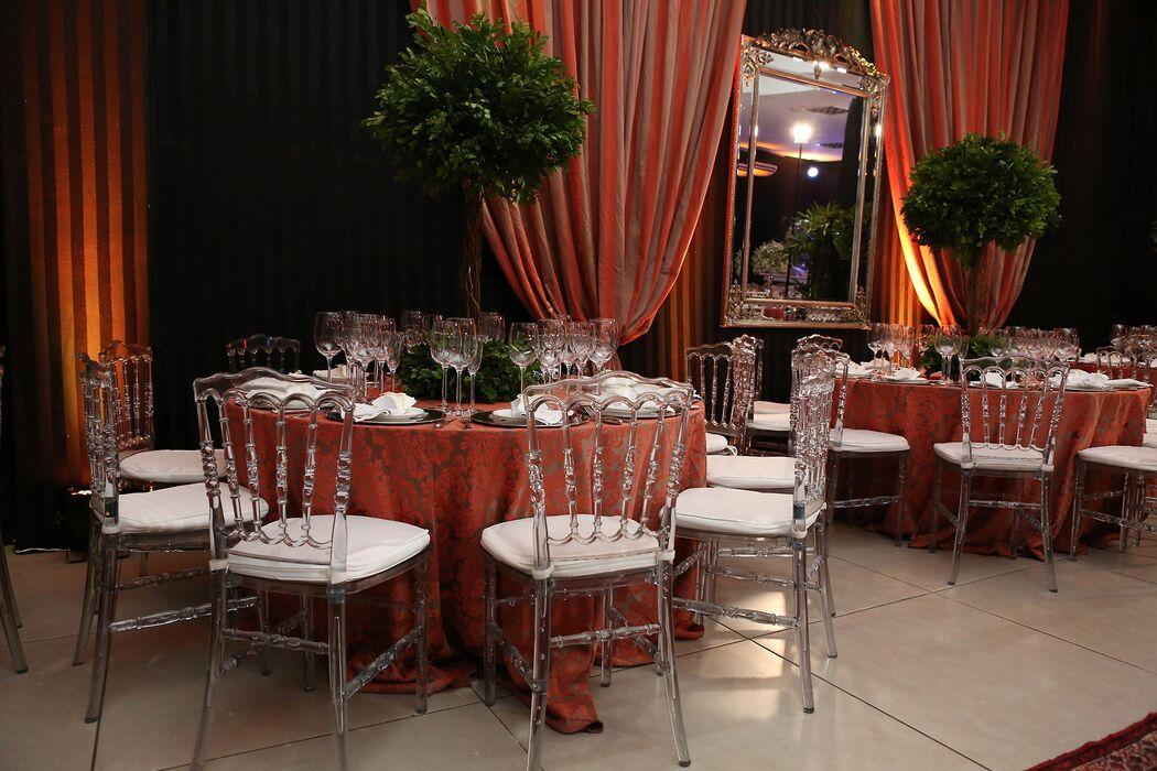 Buffet Casa Rosada