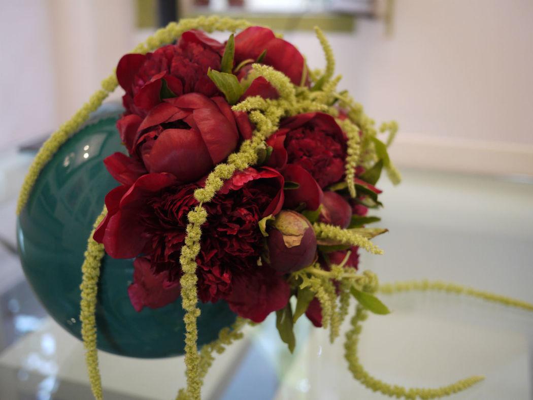 Mise en vase contemporaine - Création Les Fées Nature