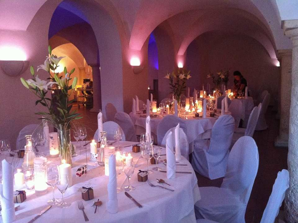 Beispiel: Eventorganisation, Foto: Rosenpalais Catering.