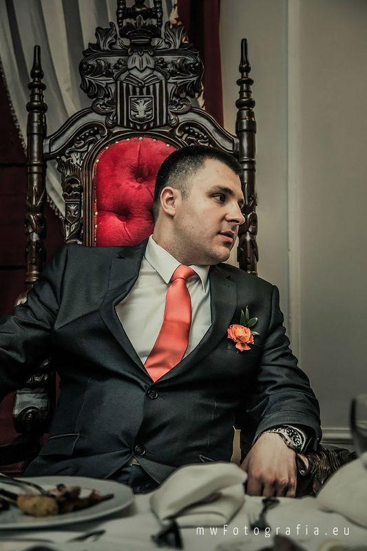 MWFotografia Studio - portret pana młodego