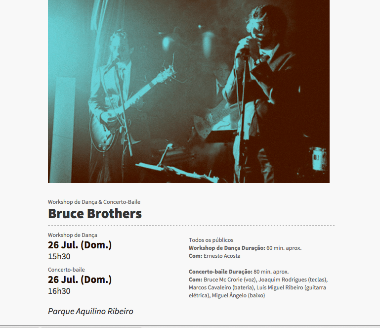 Bruce Brothers - Festival de Jazz de Viseu