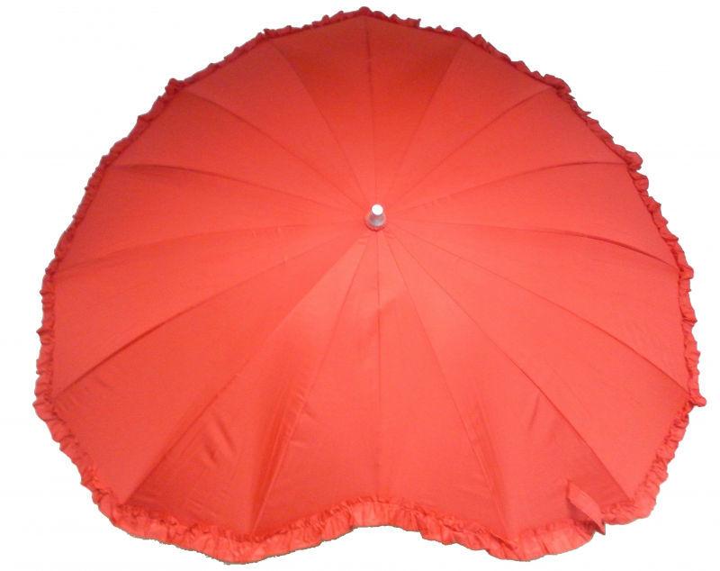 Beispiel: Regenschirm in Herzform, Foto: RS Segelken.