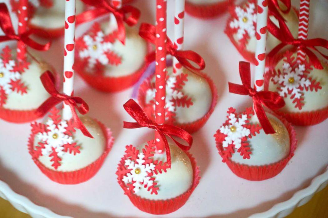 Cakepops de brownie milo