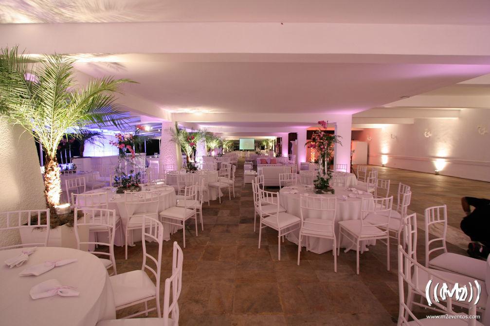 Salão da Pérgula - Clube Marapendi. Foto: M2 Eventos.