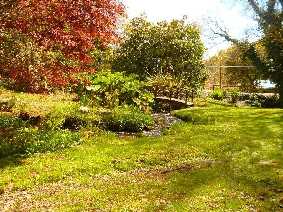 le jardin du Moulin de Traon-Lez
