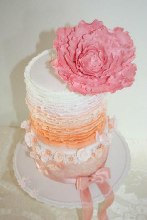 Beispiel: Glamour Cake, Foto: Lealu Sweets.