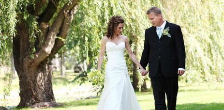 Beispiel: Brautpaar, Foto: Hotel FloraAlpina.
