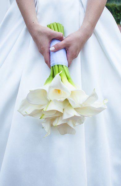 Букет невесты, каллы