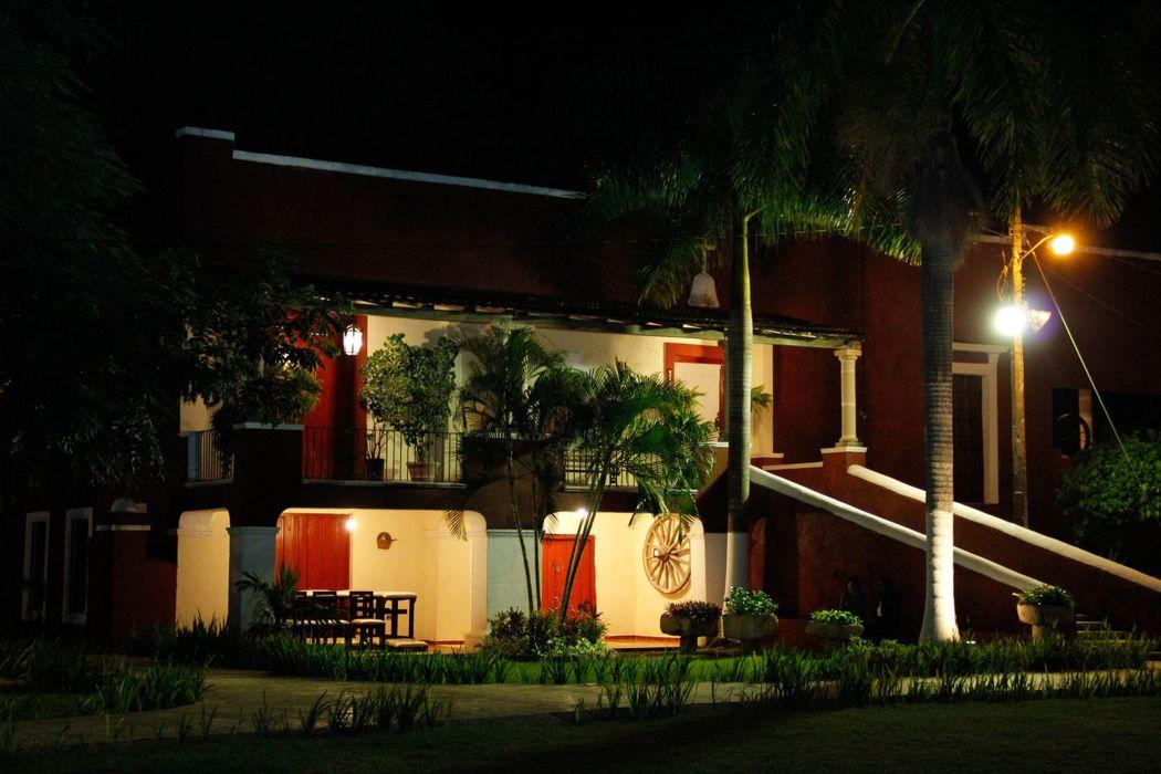 Casa principal de la Hacienda.