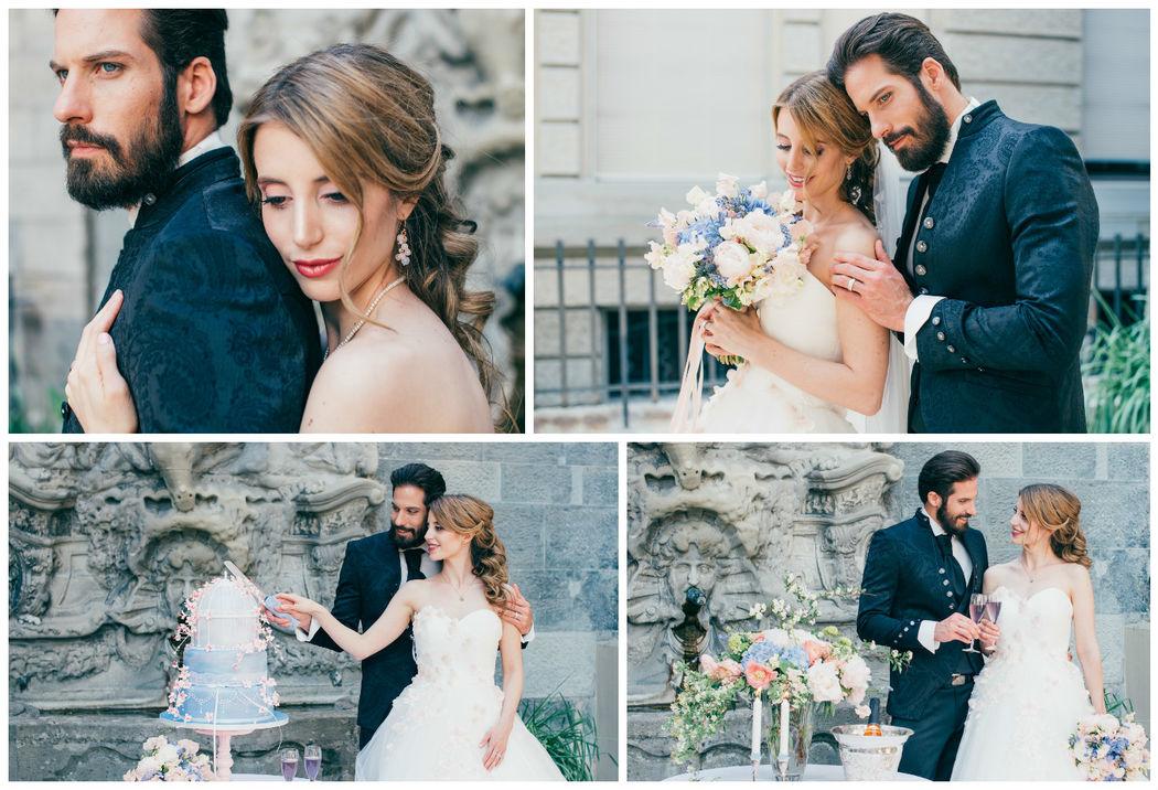 Hochzeit in Pastell - Rose Quartz & Serenity