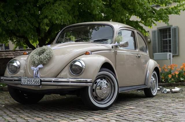 Magra's Hochzeitsauto - VW Käfer