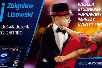 Dj - Zbigniew Lisowski  Euro media