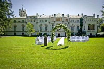 Jurty Weselne - przyjecie w pałacowych ogrodach