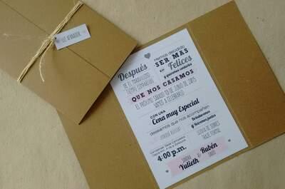 Casa Papelera el Cedro - Invitaciones