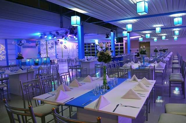 Blue Garden Salón