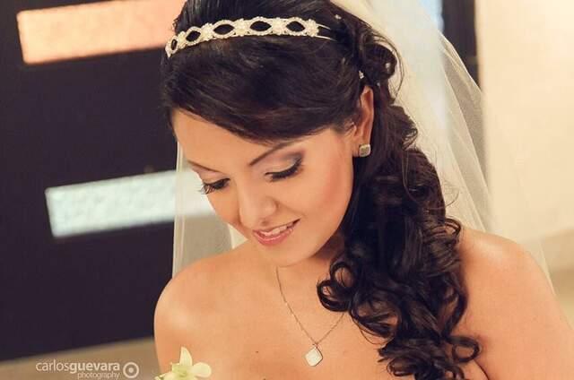 Peinado y maquillaje para novias cali