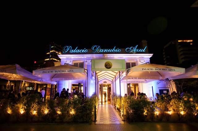 Palacio Danubio Azul
