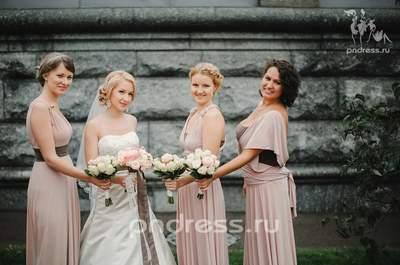 Платья подружек невесты PNDress