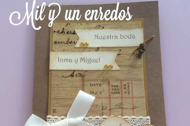 Mil y un enredos - invitaciones