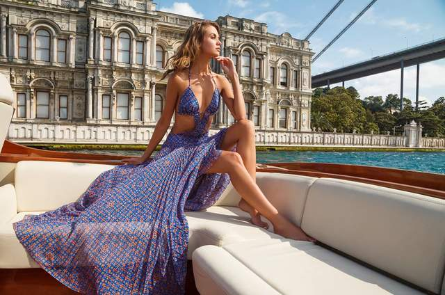 Carmen Belissa Summer Dress Luxury