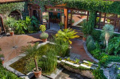 Rancho Las Sabinas-Jardín