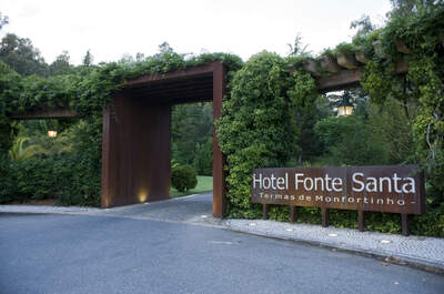Ô Hotel Fonte Santa nas Termas de Monfortinho