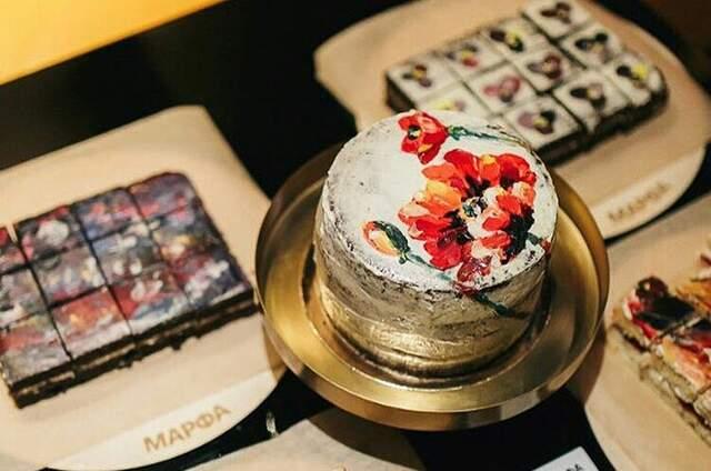 Живописные торты на заказ Марфа