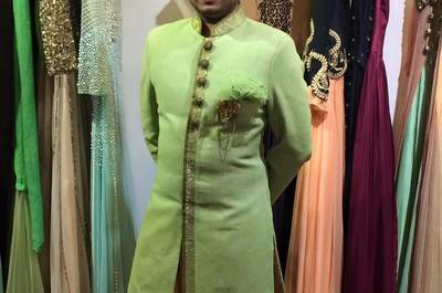 Ankur j's Wedding Wardrobe