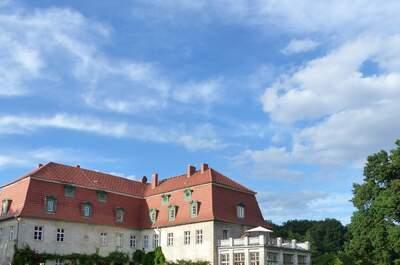 Ahlsdorf Schloss mit Remise