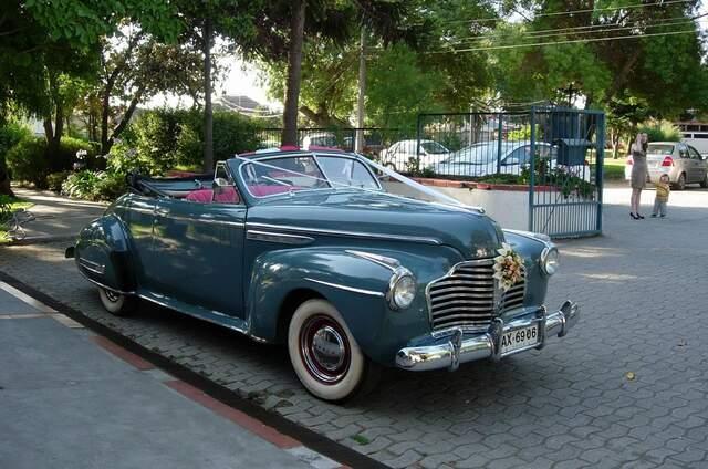 Autos Antiguos Matrimonio Concepción