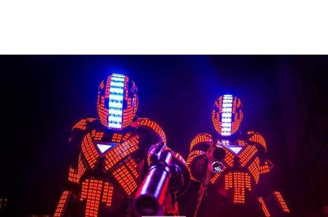 Robot Led Chile Gigantes