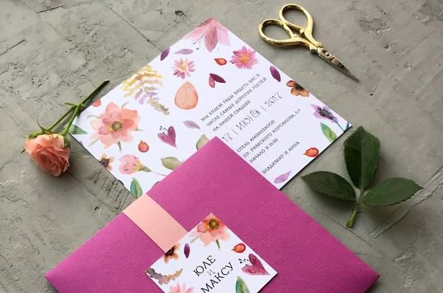 Милые Штучки: приглашения на свадьбу