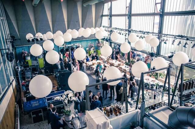 Kantine Visafslag  evenementenlocatie aan de haven